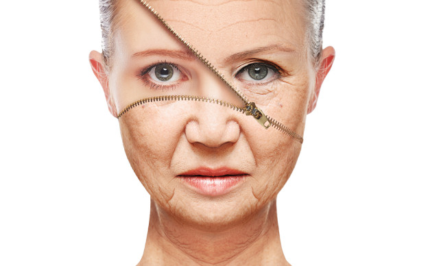 skin aging. anti-aging procedures, youthful skin anti-wrinkle, energy factories