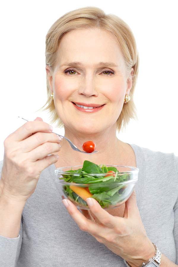eating healthy food, eating well, diet to look young