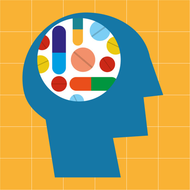 drugs affect thinking and brain activity, how medicine affects your mental and cognitive abilities, anticholinergic drugs